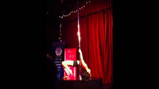 Clare's Performance at the 2011 Pole Dance Ireland competition