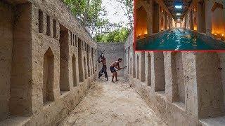 Incredible!! Amazing Creativity Ideas! Build Secret Hidden Underground Swimming Pool In Deep Forest