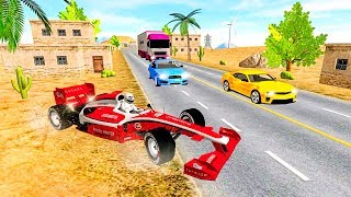 Crazy Road Racer: Highway Traffic Driving 3D - Gameplay Android game - racing game 2018