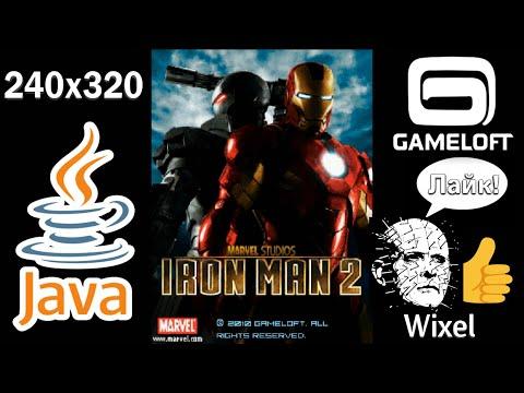 Iron Man 2 JAVA GAME 240x320 Sony Ericsson Full Version (Gameloft 2010 Year) FULL WALKTHROUGH