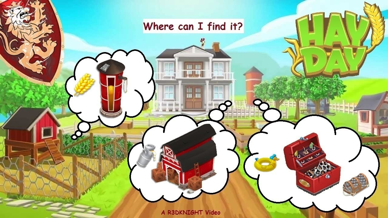 Hay Day - The Barn, The Silo, & The Tackle Box - YouTube