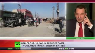 I appreciate Peshmerga & Iraqi govt efforts to ensure safety of Mosul civilians  – ICRC president