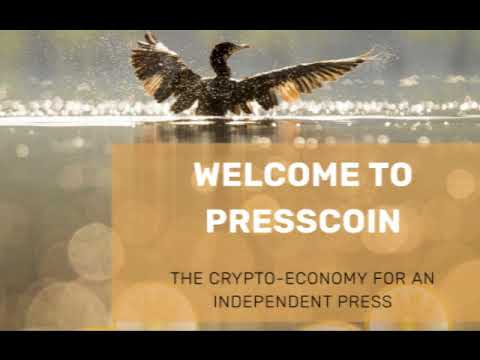 Presscoin: new cryptocurrency to fund investigative journalism with Nafeez Ahmed