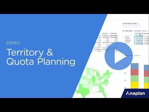 Territory & Quota Planning