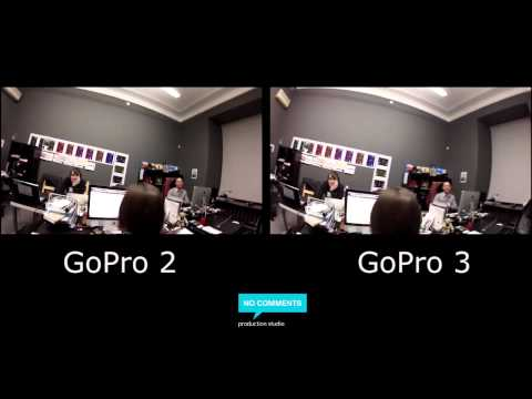 GoPro2 vs GoPro3 Silver Edition First test in SPb