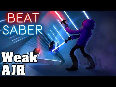 Beat Saber - Weak - AJR (custom song) | FC