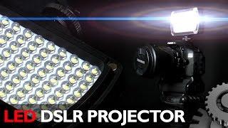 Светодиодный накамерный прожектор 96 led dslr(Друзья, под одним из моих прошлых видео, которое посвящено галогеновым прожекторам, вы рекомендовали мне..., 2016-02-23T16:47:57.000Z)