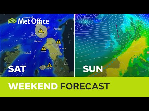 Weekend Weather – Warnings Are In Force But It's Not All Rain And Wind 09/01/20