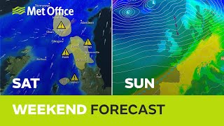 Weekend weather - Warnings are in force but it's not all rain and wind 09/01/20