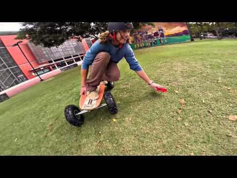 GoPro 360 Rotating Helmet Mount on Fiik Electric Skateboards