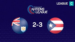 #CNL Highlights - Anguila 2-3 Puerto Rico
