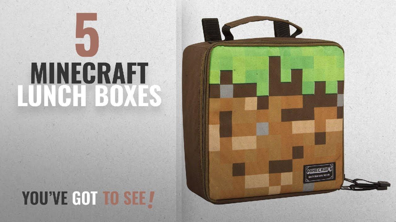c0a3701691 Best Minecraft Lunch Boxes  2018   JINX Minecraft Dirt Block ...