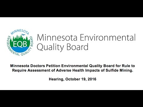Minnesota Doctors Think Sulfide Mining Health Effects Need Closer Investigation