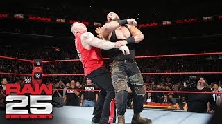 Braun Strowman, Brock Lesnar and Kane collide before the Royal Rumble event: Raw 25, Jan. 22, 2018 thumbnail
