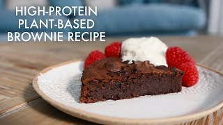 High Protein Plant-Based Brownie Recipe