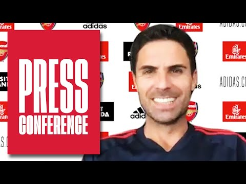 Mikel Arteta on Aubameyang's & Saka's futures, Pep Guardiola & Manchester City | Press Conference