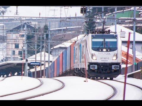Swiss Cargo Trains