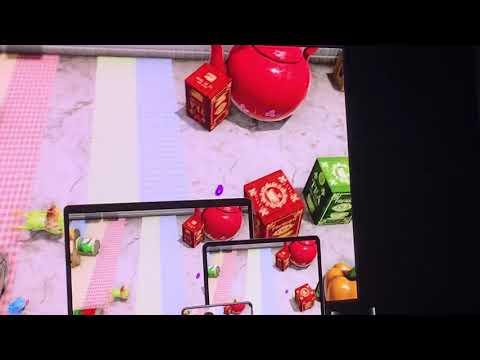 Apple Arcade shows off Konami's Frogger in Toy Town, Capcom's Shinsekai: Into the Depths, and Sayonara Wild Hearts