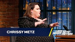 Chrissy Metz Thought She was Being Punk