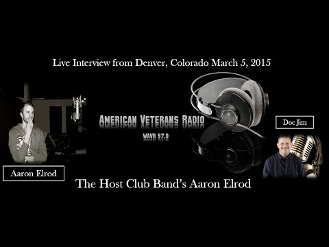 American Veterans Radio WAVR 97.0 Interviews the Host Club's Aaron Elrod