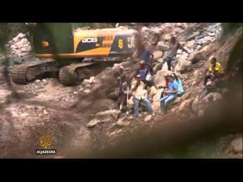Illegal mining hurts indigenous people in Colombia