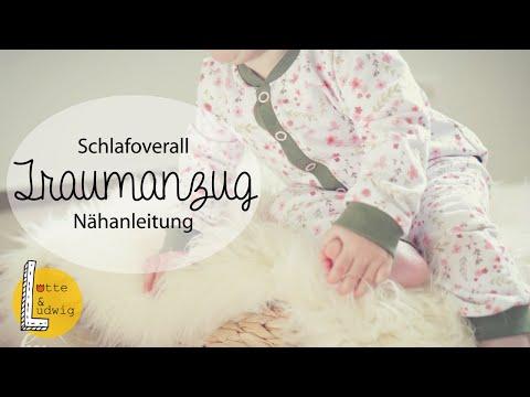 "Nähanleitung Baby-Schlafanzug ""Traumanzug"""