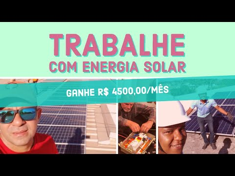CURSO COMPLETO DE ENERGIA SOLAR - SOLAR TREINAMENTOS