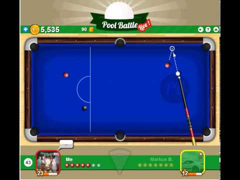 lets play - pool battle live - part 1 - level 1 don't know what he is doing!