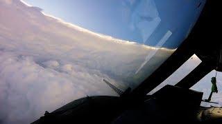 hurricane hunters fly into irma