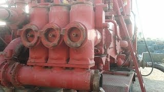 cementing (halliburton) pump, No Secrets