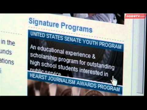 Student wins scholarship, trip to Washington