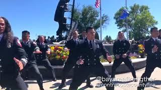 Fire Department Haka Firefighter Memorial