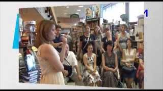 Анетта Орлова в Молодой гвардии 5.06.2014(В рамках Книжного клуба