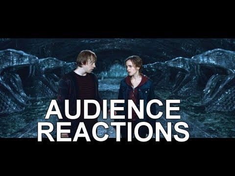Harry Potter Ron and Hermione Kiss {SHORT REACTIONS}: Audience Reactions  July 14