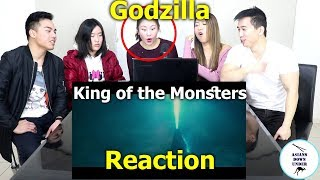 Godzilla: King of the Monsters - Official Trailer 1 | Reaction - Australian Asians