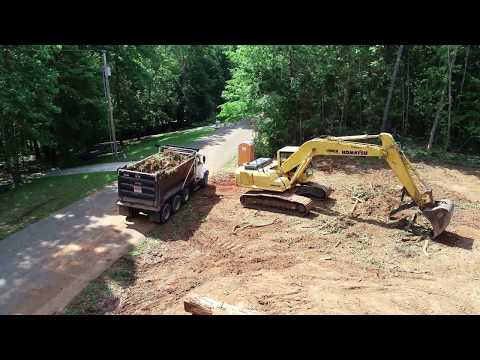LTS Construction of Huntland TN land clearing project 4