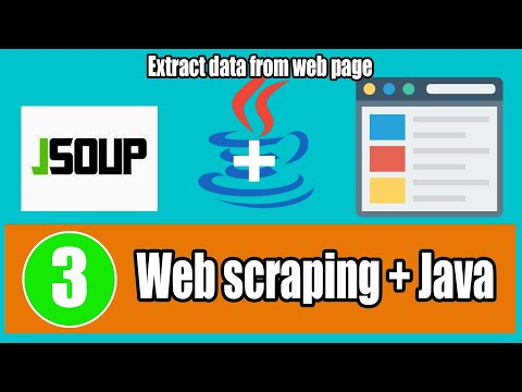Tutorial 3- Jsoup Web Scraping Data with Java Real Example 2 of 2