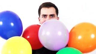 видео При вдыхании гелия из шара будет писклявый голос. Опасный при вдыхании гелия?