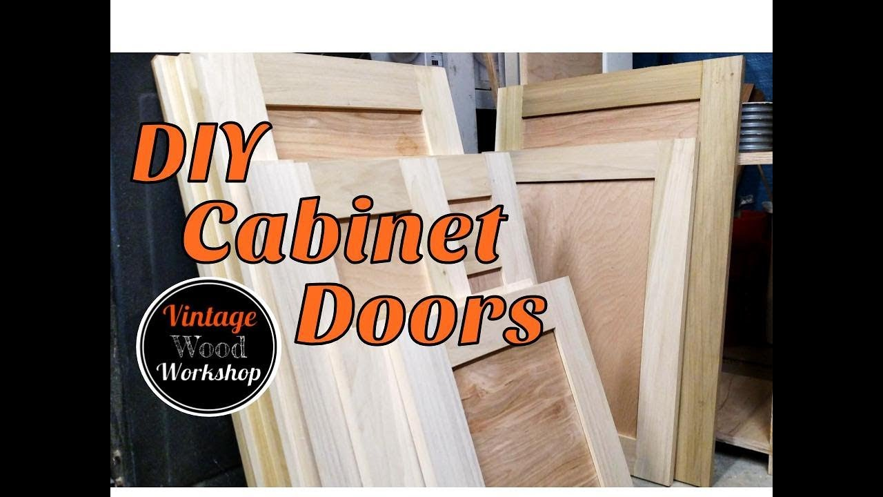 Diy Tongue And Groove Hardwood Cabinet Doors Kitchen Remodel 1