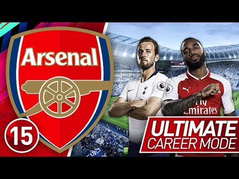 FIFA 19 ARSENAL CAREER MODE #15 | NORTH LONDON DERBY! (ULTIMATE DIFFICULTY)