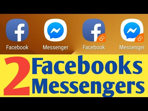 2 Facebook, 2 Messenger On One Device | Dual Messenger Android 2019