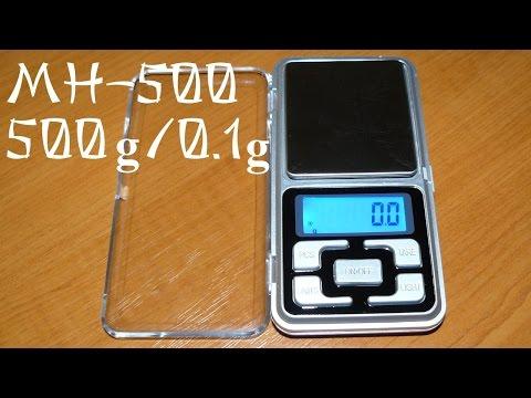 Электронные весы MH-500 500g/0.1g Pocket Scale. MH-500 инструкция