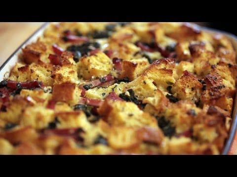 Breakfast Strata - Ham, Spinach & Gruyere   Kin Community