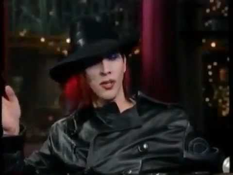 Marilyn Manson- David Letterman 1998 (Mechanical Animals)