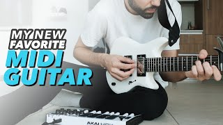 Music Producers Guitar | Jamstik Studio MIDI Guitar Overview & Making A Looping Performance