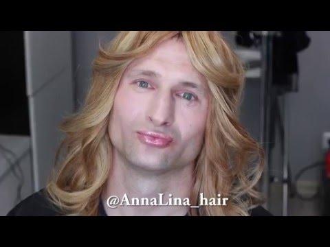 Локоны Блондинка Длинные Волосы Прическа Макияж