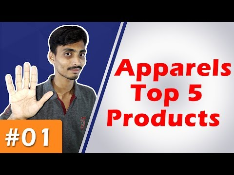 Apparels Top 5 Selling Products | Part 1| Ecommerce Ideas from YouTube · Duration:  12 minutes 10 seconds