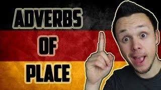 Learn German Adverbs of Place | Grammar Lesson