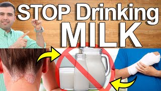 STOP Drinking Dairy - 6 Reasons Why You Should Quit Milk - It's Consequences and Conditions