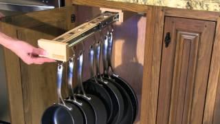 Glideware - Single Cabinet Organizer At Glideware.com